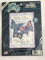 Today Is A Gift Sunset Jiffy Dimensions Stamped Cross Stitch Kit #16730 Sealed