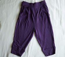 Ouch Girls Harem Genie Boho Aladdin Long Pants Purple Elastic Waist - Size 2 NEW