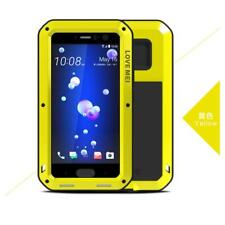 Heavy Duty Shockproof Metal Case Cover+Screen Protector For HTC U11 U12+ A9 M10