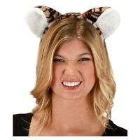 Bengal TIGER PLUSH Fur Furry Headband Ears and Tail Costume Accessory Kit