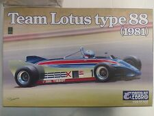 EBBRO 1/20 - F1 TEAM LOTUS TYPE 88 1981
