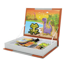 81Pcs Magnetic Book Toy Animal Jigsaw Puzzle - Kid Baby Early Developmental