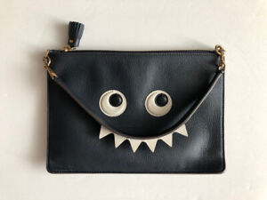 Authentic Anya Hindmarch Monster Clutch