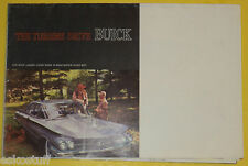 Buick Cars 1960 Full Line Auto Sales Brochure Great Pictures! Nice See!