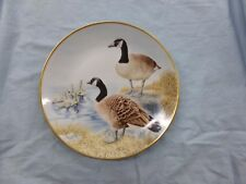 12 Waterbird Plates Series CANADA GOOSE Ltd Danbury Mint Eric Tenney W Germany