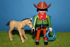 PLAYMOBIL Cowboy con puledro