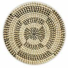 Rattan Wall Decor - Hanging Woven Wall Basket - Bedroom 13.8 IN Reflection