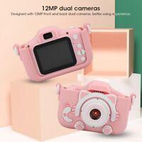 "2"" HD 1080P Mini Digital Kids Camera Children Camcorder Video Recorder Gift Toys"