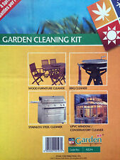 JOBLOT OF GARDEN XP CLEANING PRODUCTS BBQ 4 SPRAY BOTTLES PER PACK BRAND NEW