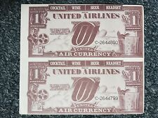 United Airlines United Air Currency
