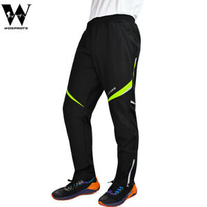 Windproof Men Cycling Trousers Thicken Warmer Thermal Tights Outdoor Sport Pants