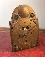 Early Verge Fusee Bracket Clock Movement