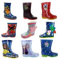 Childrens wellies Wellington Boots Rain Snow Paw Patrol Peppa Pig Bing
