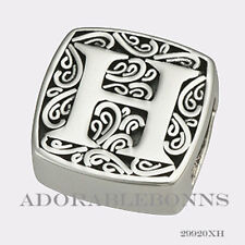 is for Hot! Slide Charm 29920Xh Authentic Lori Bonn Sterling Silver H