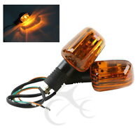 Motorcycle Orange Turn Signal Indicator Light For Suzuki GSX-R400 Motorbike