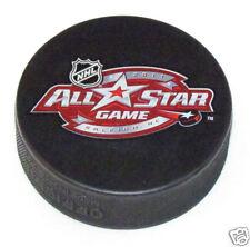 2011 NHL ALL-STAR GAME PUCK Raleigh, NC Carolina Hurricanes SOUVENIR IN GLAS CO.