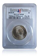 PCGS SP68 MS68 2010-P Millard Fillmore Presidential Dollar Pos B Satin Finish $1