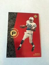 1996 SP Authentic Marvin Harrison RC #18 Indianapolis Colts