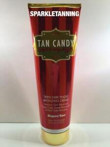 Supre Tan TAN CANDY Triple Dark Tingle Bronzer Indoor Tan Tanning Lotion