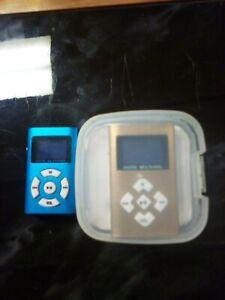 2 Digital MP3 Multimedia Players