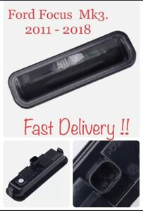 Ford Focus MK3  Zetec Tailgate Boot Lid Switch Button Inc Lights 2013 - 2014. B1