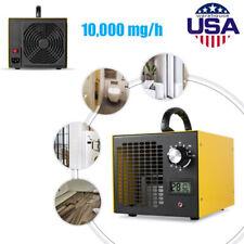 Usa Portable 10,000 mg/h Lcd Ozone O3 Machine Air Purifier Cleaner sterilization