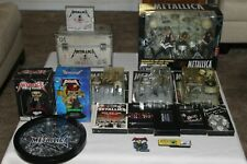 The Ultimate Metallica Lot Including Brand New Box Set & All 4 Action Figures!!!