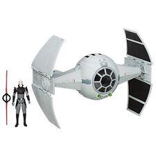 Star Wars Rebeldes: tie Advanced Prototype vehículo con la figura inquisidor