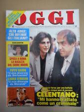 OGGI n°23-24 1988 Celentano Mori Laura Efrikian Annamaria Gambineri [G785]
