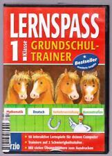 LERNSPASS Grundschul-Trainer 1. Klasse Mathematik Deutsch Konzentration PC Spiel