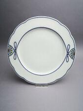 Rosenthal Pearl China Grace Society blaues Kordel Kuchenteller Ø ca.22 cm 2.Wahl
