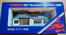 TOMIX 4027 N SCALE RESTAURANT JAPANESE STYLE BUILDING, GREAT FOR YOUR CITY!