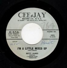 BLUES/POPCORN-BETTY JAMES-CEE-JAY 583-I'M A LITTLE MIXED UP/HELP ME TO FIND MY L