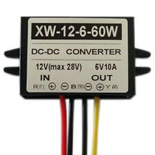 DC 12V To DC 6V 10A 60W Step Down Power Supply Converter Regulator Module UK