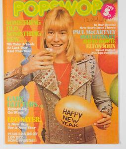 THE SWEET BOWIE ELTON JOHN ROD STEWART DIANA ROSS NEW SEEKERS Popswop magazine