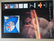 ROYAL MAIL A4 OFFICE POSTER 1992 EUROPA OLYMPICS BARCELONA CHRISTOPHER COLUMBUS