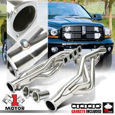 Stainless Steel Long Tube Exhaust Header Manifold for 06-17 Dodge Ram 5.7 345 V8