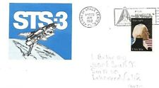 USA 1982 SPACE RELATED COVER STS - 3