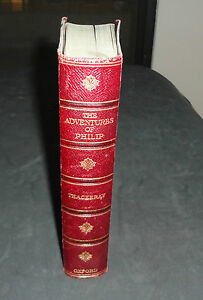 THE ADVENTURES OF PHILIP BY WILLIAM MAKEPEACE THACKERAY 1862 (1st Edition):