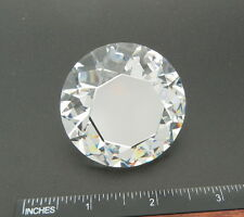 FABULOUS 50mm FANCY CHATON (PAPERWEIGHT) CRYSTAL CAL/FOILED #1357