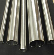 """STAINLESS STEEL TUBING 1/4"""" O.D. X 12 INCH LENGTH X .040"""" WALL POLISHED 6mm"""