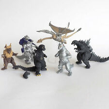 Bandai Capsule Toys Godzilla HG 9 - Complete set of 6, Flying Mecha Ghidorah