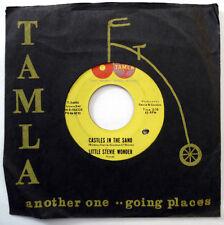 LITTLE STEVIE WONDER 45 Castles In The Sand / Thank You VG++ Motown SOUL w4768