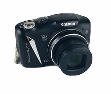 Canon PowerShot SX130 IS 12.1MP Digital Camera - Black Cables included nice