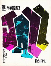 Fourth Annual Monterey Jazz Festival Official Program - 1961
