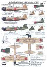 Berna Decals 1/48 MITSUBISHI A6M3 MODEL 52 ZERO HAMP Fighter