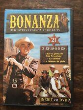 COLLECTION BONANZA DVD N°21 ... SERIE WESTERN .. 3 EPISODES