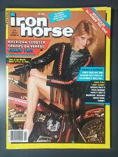 1984 OCTOBER IRON HORSE EASYRIDERS MOTORCYCLE CHOPPER MAGAZINE HARLEY CUSTOM