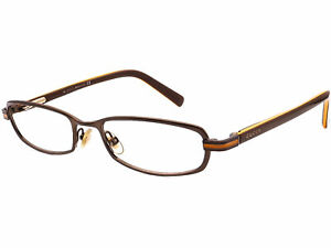 Gucci Eyeglasses GG 2762 EHR Brown Oval Frame Italy 49[]17 130