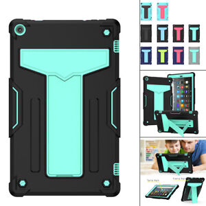 """For Amazon Fire HD 10 2019 9th Gen 10.1"""" Tablet Shockproof Stand Hard Case Cover"""